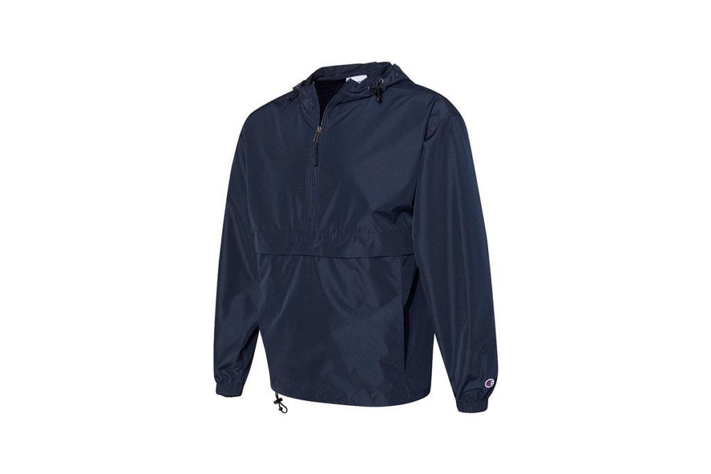Product Shot of Dark Blue Champion Jacket