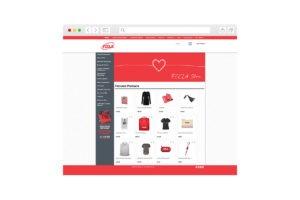 Screenshot of homepage for FCCLA