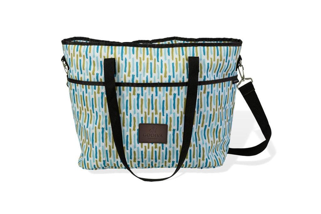 Product Shot of a Godiva Tote Bag