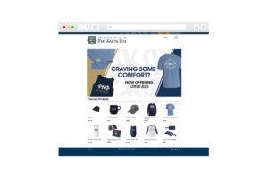 Screenshot of homepage for Phi Kappa Phi